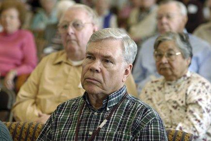 Les gens âgés ne sont pas aussi pessimistes... (Photo: AFP)