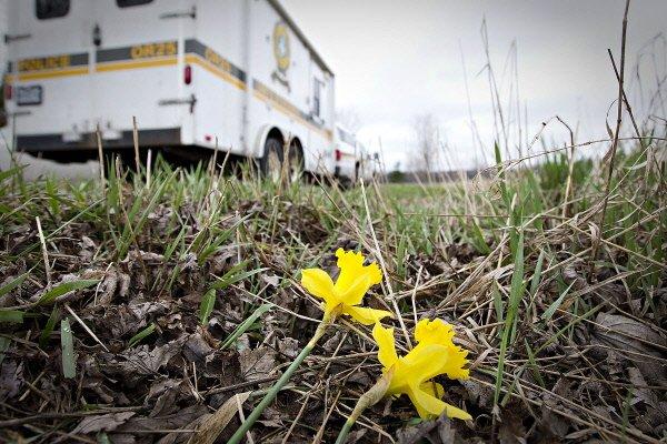 Une famille de Sherbrooke a été décimée dans un accident survenu lundi matin... (Archives La Presse)
