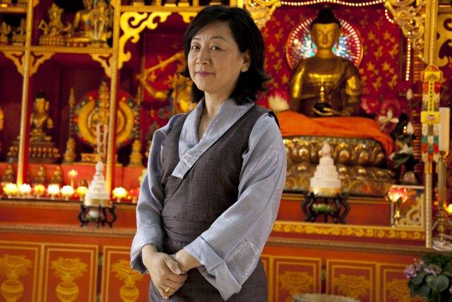Dicki Chhoyang n'était qu'une enfant lorsqu'elle a trouvé... (Photo : Hugo-Sébastien Aubert, La Presse)