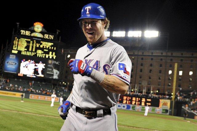 Josh Hamilton, des Rangers du Texas, est devenu... (Photo: Reuters)