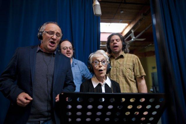 Une dizaine d'artistes ont participé hier à l'enregistrement... (Photo: André Pichette, La Presse)