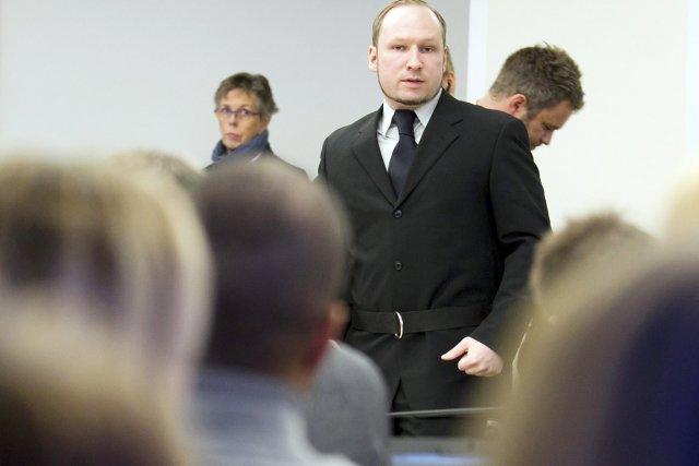 Au 16e jour du procès, le tribunal d'Oslo... (Photo: Heiko Junge, Reuters)