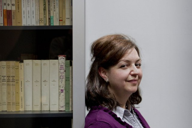 Guylaine Girard, directrice de Fides.... (Photo Marco Campanozzi, La Presse)