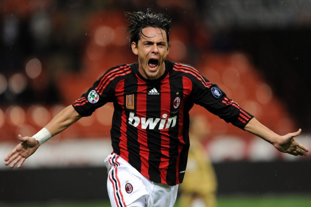 Filippo Inzaghi... (Photo Giuseppe Cacace, archives AFP)
