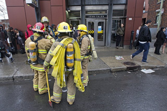 Depuis les événements de jeudi dans le métro... (Photo: Patrick Sanfaçon, La Presse)