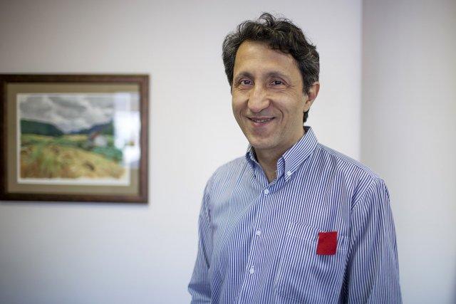 Amir Khadir, le seul député de Québec solidaire.... (Photo: Olivier PontBriand, La Presse)