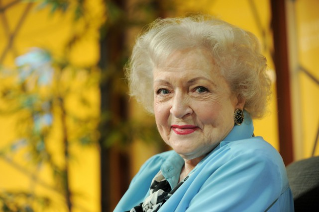 Betty White... (Photo d'archives, AP)