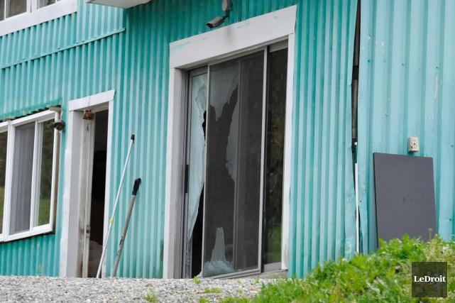 Le meurtrier s'était réfugié chez la victime quatre... (Martin Roy, LeDroit)