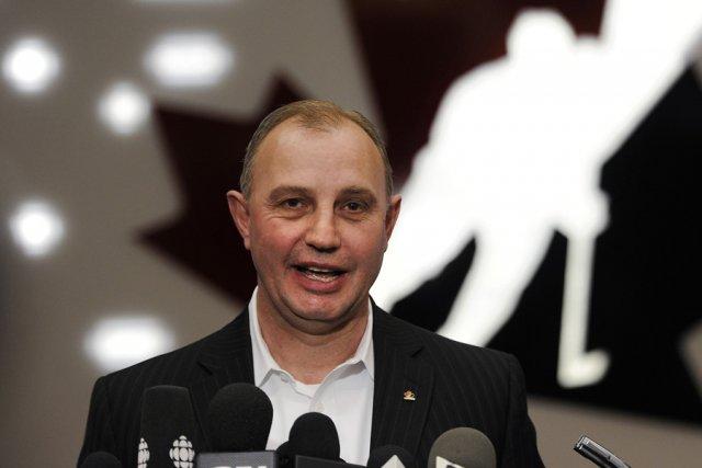 L'entraîneur de l'équipe canadienne au Championnat du monde... (Photo: Reuters)