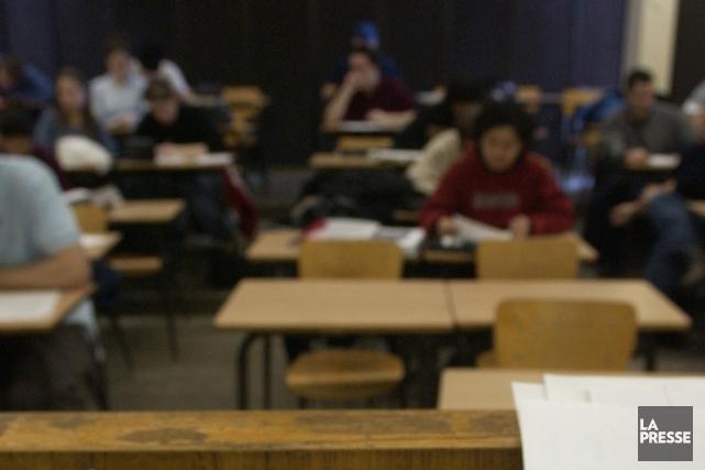 «Enseigner, c'est penser. Étudier, c'est également penser. Or,... (PHOTO IVANOH DEMERS, ARCHIVES LA PRESSE)