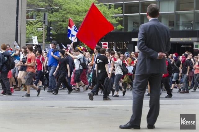 L'Association pour une solidarité syndicale étudiante (ASSÉ) s'est dite déçue,... (PHOTO: ROBERT SKINNER, LA PRESSE)