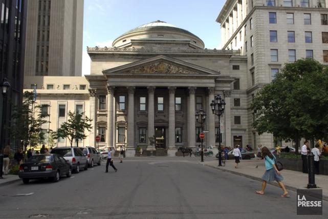 La succursale du Vieux-Montréal de la BMO.... (Photo Rémi Lemée, Archives La Presse)