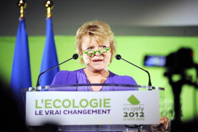 Eva Joly, candidate de l'EELV à la présidentielle... (Photo: Bertrand Guay, Archives AFP)