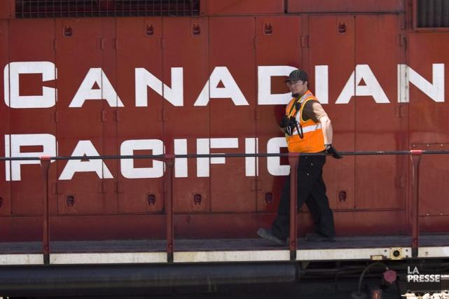 Le Canadien Pacifique (T.CP)et le syndicat représentant... (Photo Archives PC)