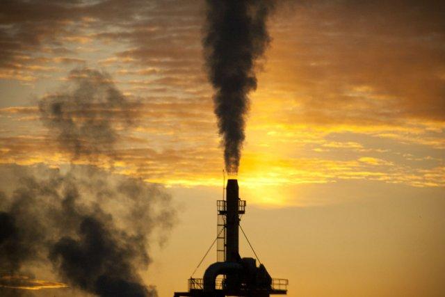 Jamais l'humanité n'a brûlé autant de pétrole, de gaz ou de charbon qu'en ... (Photo David Boily, archives La Presse)