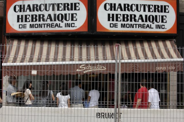 Le mythique restaurant de smoked-meat du boulevard St-Laurent,... (Photo d'archives Bernard Brault, La Presse)