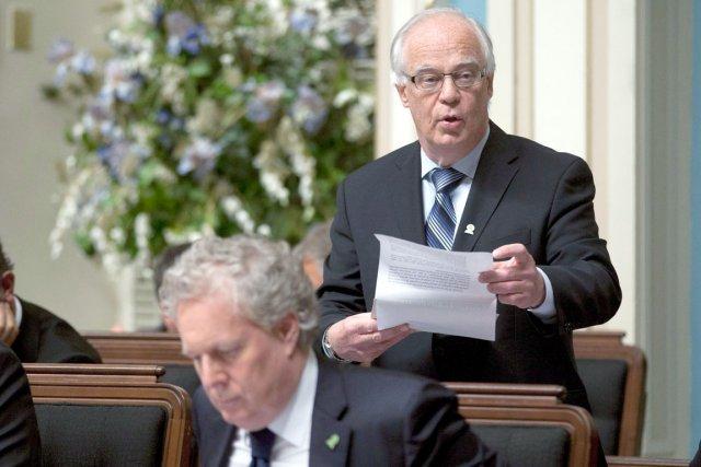Le ministre de la sécurité publique, Robert Dutil,... (Photothèque Le Soleil)