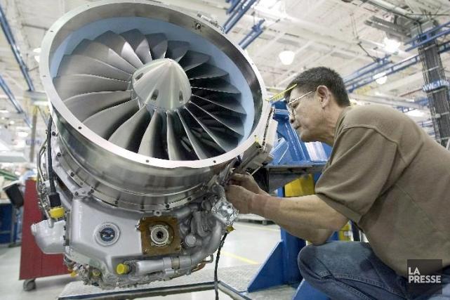GE Aviation veut mettre fin au monopole de Pratt&Whitney Canada (P&WC) en... (Photo archives La Presse)