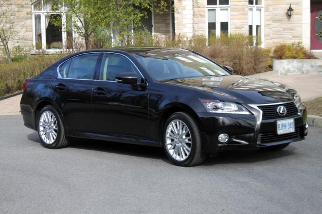 On nous présente la nouvelle Lexus GS comme... (Photo Jacques Duval, collaboration spéciale)