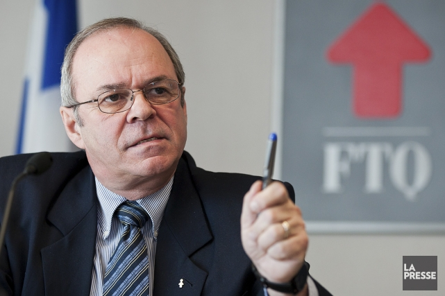Le patron de la FTQ, Michel Arsenault, déplore... (Photo: Édouard Plante-Fréchette, archives La Presse)