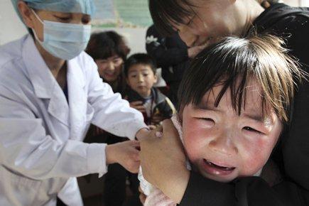 Campagne de vaccination à Huaibei, dans la province... (Photo: Reuters)
