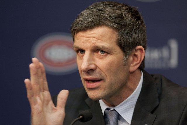 Le directeur général du Canadien, Marc Bergevin.... (Photo: André Pichette, La Presse)