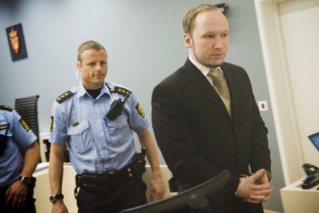 Au 26e jour du procès de l'extrémiste de... (Photo:  Fredrik Varfjel, Reuters)