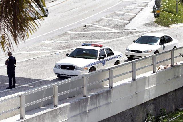 Rudy Eugene a été abattu par un policier... (Photo: Marsha Halper, The Miami Herald/AP)