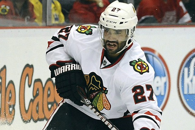 Johnny Oduya... (PHOTO ARCHIVES LA PRESSE CANADIENNE)