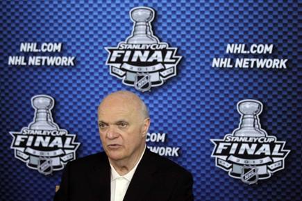 Le PDG des Devils, Lou Lamoriello.... (Photo: Reuters)