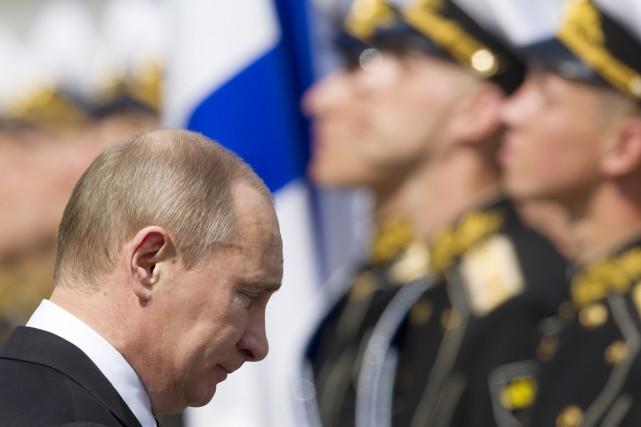 Vladimir Poutine... (Photo Alexander Zemlianichenko, archives AP)