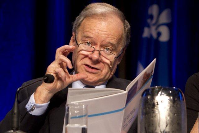 Raymond Bachand... (Photo Robert Skinner, La Presse)