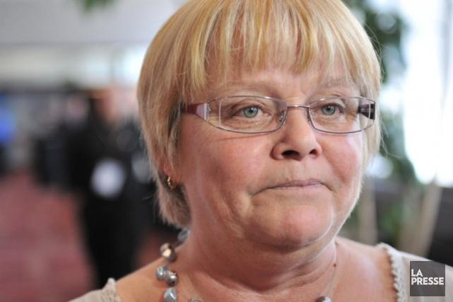 Linda Bélanger, vice-présidente du Syndicat des fonctionnaires municipaux... (Photothèque Le Soleil, Steve Deschênes)