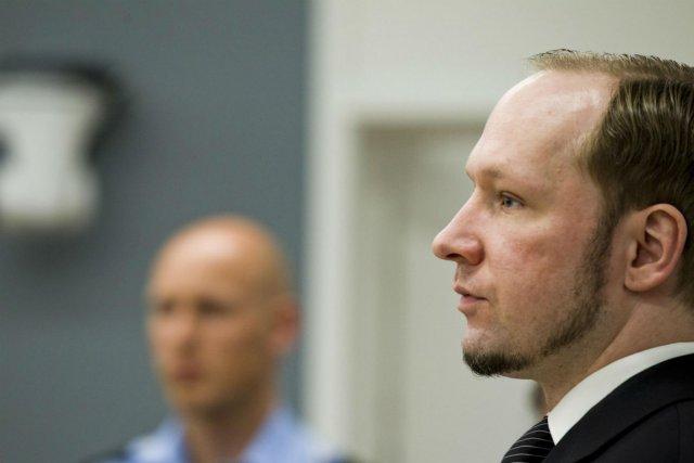 Anders Behring Breivik... (Photo Reuters)