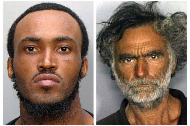 Rudy Eugene (à gauche) et Ronald Poppo.... (Photo: Reuters)