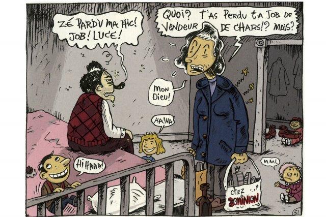bande dessinee quebecoise jeunesse