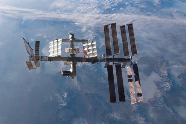 La Station spatiale internationale (ISS).... (Photo archives Reuters)