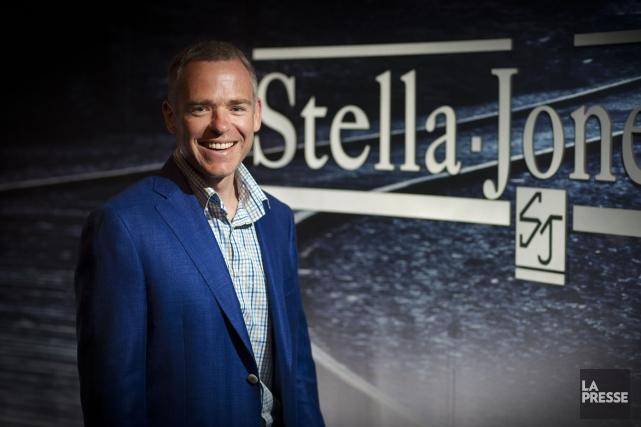 Brian McManus, PDG de Stella-Jones.... (Photo André Pichette, archives La Presse)
