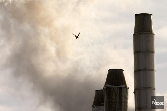 Si les émissions de gaz à  effet... (Photo: archives La Presse)