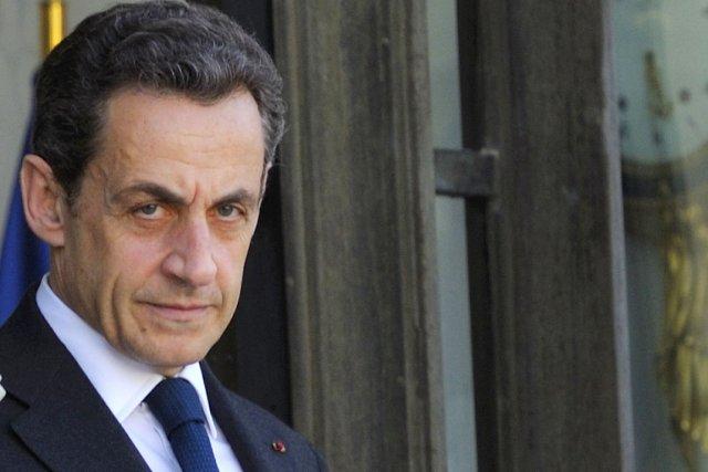 L'ex-président français Nicolas Sarkozy.... (Photo: Philippe Wojazer, Reuters)