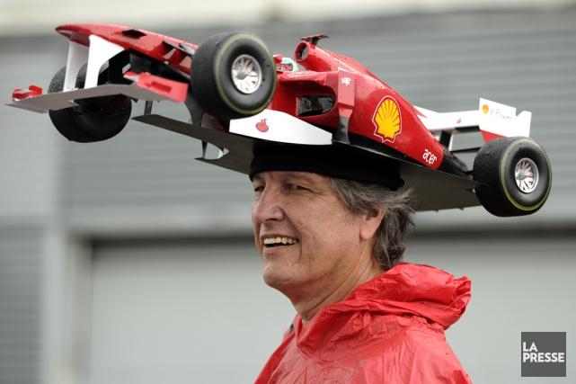 L'assistance au Grand Prix a diminué de 10,7%... (Photo Bernard Brault, archives La Presse)