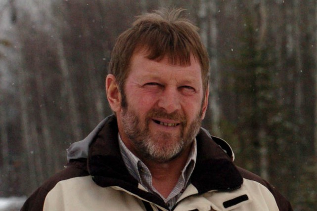 Claude Boulanger, maire de Charette.... (Photo: Stéphane Lessard)