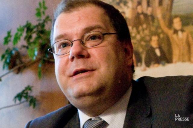 Mario Beaulieu,président de la Société Saint-Jean-Baptiste... (PHOTOTHÈQUE LA PRESSE)