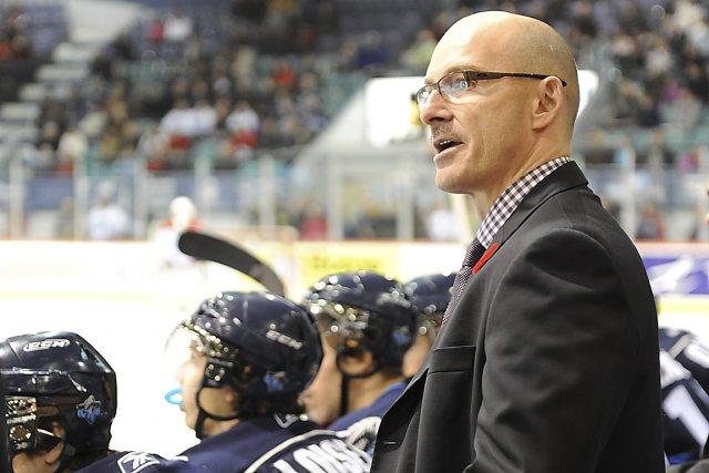 L'entraîneur-chef Serge Beausoleil... (Photo collaboration spéciale Rémi Sénéchal)