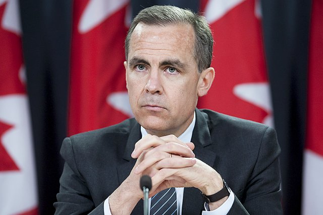 Pour remplacer Mark Carney (photo) à la Banque... (Photo La Presse Canadienne)