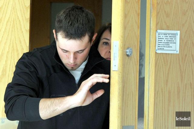 Alex Labbé, ce Beauceron de 25 ans accusé... (Photothèque Le Soleil, Erick Labbé)