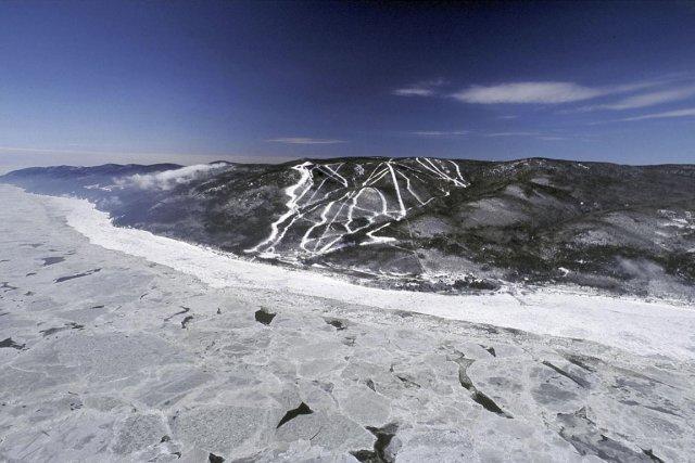 Le Massif de Charlevoix... (Photo fournie par le Massif)