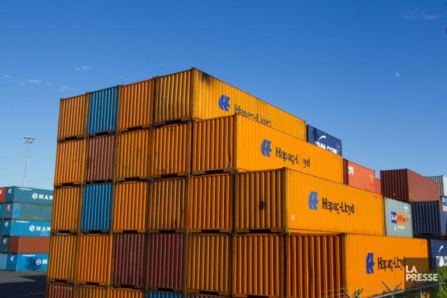 Les échanges commerciaux du Canada avec l'étranger ont beau s'améliorer quelque... (Photo André Pichette, La Presse)