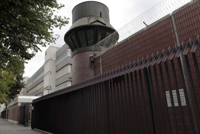 La prison du quartier berlinois deMoabit où est... (Photo AP)