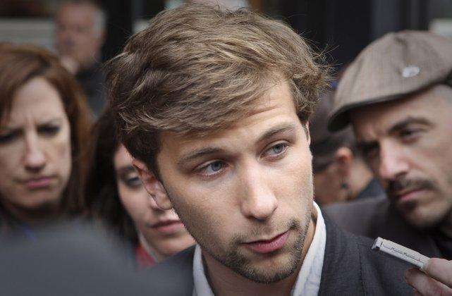 Le co-porte-parole de la CLASSE, Gabriel Nadeau-Dubois.... (Photo: AFP)